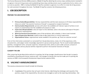 New Staff Hiring Proposal Templates